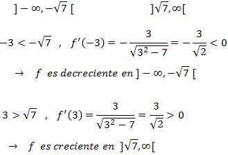 intervalos de monotonia