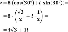 Números complejos o imaginarios en forma polar. Calculadora online para pasar de la forma polar a la binómica y viceversa. Incluye las fórmulas para multiplicar y dividir complejos en forma polar. Con problemas resueltos y representaciones. Matemáticas para bachillerato y universidad. TIC