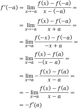 paridad de funciones: función y función impar. Definición, ejemplos y demostración de las propiedades