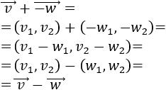 Definimos la suma y la resta de vectores del plano analíticamente y geométricamente y resolvemos problemas relacionados. Geometría plana. Geometría 2D. Secundaria, Bachillerato.