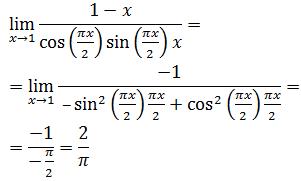 limite de tangente