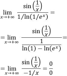 Transformación de la indeterminación 0 elevado a 0 en las indeterminaciones infinito partido infinito y 0 partido 0 para poder aplicar la regla de L'Hôpital. Con ejemplos. Límites resueltos. Matemáticas. Bachillerato y universidad.
