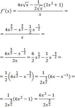 ejercicios resueltos de cálculo de derivadas aplicando la regla de la cadena y la fórmula obtenida en el ejercicio 16 para calcular la derivada una función elevada a otra función