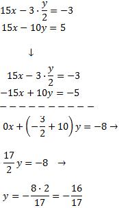 resolución paso a paso de sistemas de ecuaciones por             sustitución, igualación y reducción