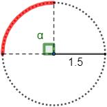 Fórmulas para calcular la longitud de arco de una circunferencia (en grados y en radianes) y problemas resueltos de aplicación. Secundaria, ESO y Bachillerato.