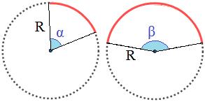 10 Calculadoras online para Arcos Circulares, Coronas Circulares y Sectores Circulares: calculadoras del área, del perímetro y ángulo (en grados y radianes). Se indican las fórmulas. Secundaria, ESO y Bachillerato. TIC.