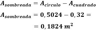 Problemas resueltos de tetrágonos regulares (cuadrados): calcular perímetro, área y diagonales. Polígonos. Geometría plana. Secundaria.