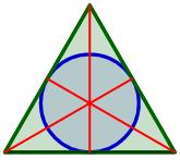 problemas resueltos de calcular áreas de triángulos