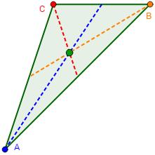 triángulos: concepto, tipos, clasificación, altura, mediana, bisectriz, ortocentro, baricentro, incentro, equilátero, isósceles, escaleno, rectángulo, oblicuángulo, acutángulo, obtusángulo. Ejemplos y test