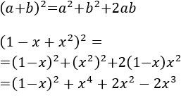 Cuadrado y cubo de un binomio (suma y resta). Fórmulas, demostraciones y ejercicios resueltos. Álgebra. Matemáticas.
