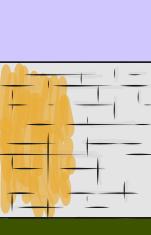 representación de un muro