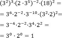 exercicis de simplificar expressions amb potències (11)