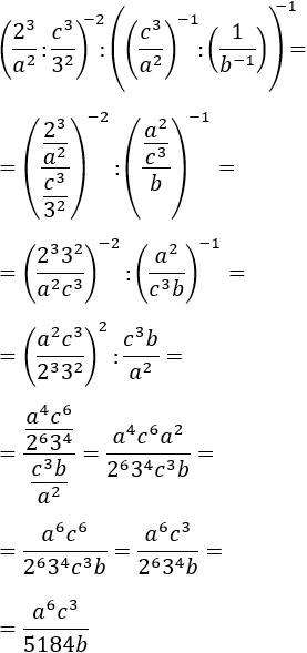 exercicis de simplificar expressions amb potències (15)
