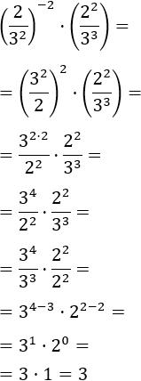 exercicis de simplificar expressions amb potències (6)