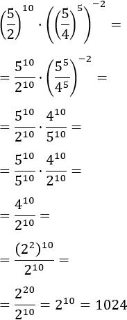 exercicis de simplificar expressions amb potències (7)