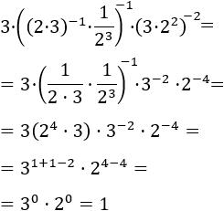 exercicis de simplificar expressions amb potències (9)
