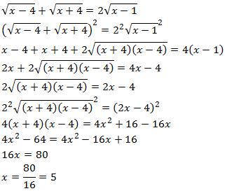 Ecuaciones Irracionales Con Radicales O Con Raíces Ejercicios Resueltos