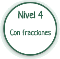 Nivel 4: ecuaciones con fracciones