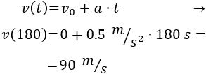 problemas resueltos de movimiento rectilíneo acelerado (MRUA). Bachiller.
