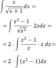 Resolución detallada de integrales mediante el método de integración por sustitución o cambio de variable. Integrales resueltas y explicadas. Bachiller, bachillerato, universidad, cálculo integral.