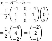 Explicamos el método de la inversa para resolver sistemas de ecuaciones lineales compatibles determinados (con una solución). Calculamos la solución multiplicando la matriz de términos independientes por la inversa de la matriz de coeficientes del sistema. Sistemas resueltos. Ejemplos. Matemáticas para bachillerato y universidad. Álgebra matricial. Matrices.