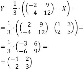 Resolvemos 15 problemas de ecuaciones matriciales y sistemas de ecuaciones matriciales. En la mayoría de las ecuaciones, tenemos que multiplicar la ecuación por la inversa de una matriz. Matemáticas para bachillerato y universidad. Álgebra matricial. Matrices.