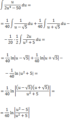 ejercicios resueltos integración de funciones racionales (fracciones)